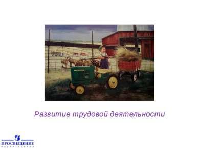 Развитие трудовой деятельности