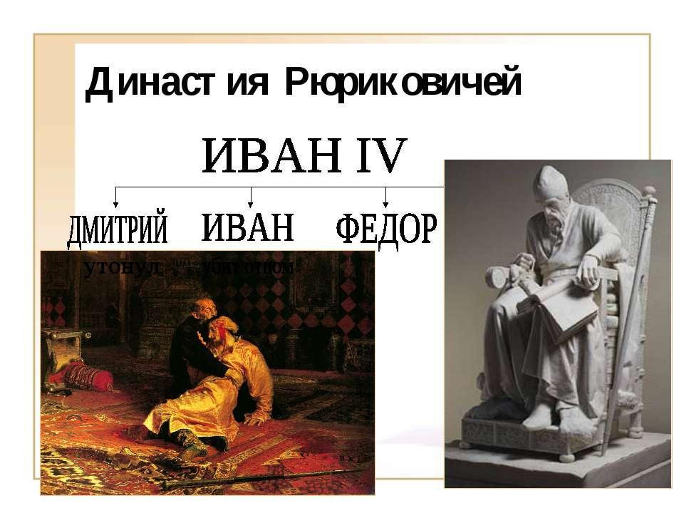 Династия Рюриковичей