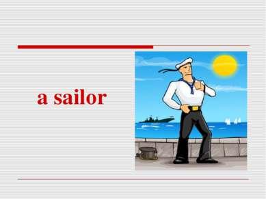 a sailor