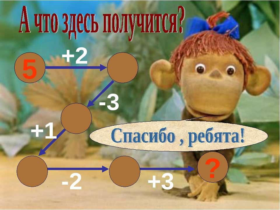 5 +2 -3 +1 -2 +3 6 ? 7 4 5 3