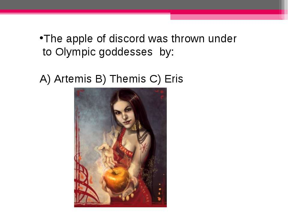 the apple of discord