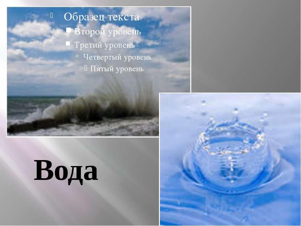 Вода Вода