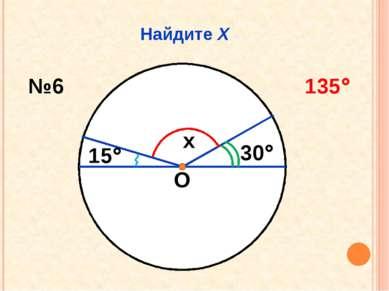 Найдите Х О x 30 15 №6 135