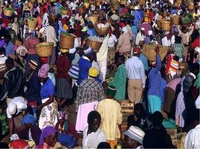 Зимбабве – многорасовое и полиэтничное государство. 98% населения составляют ...