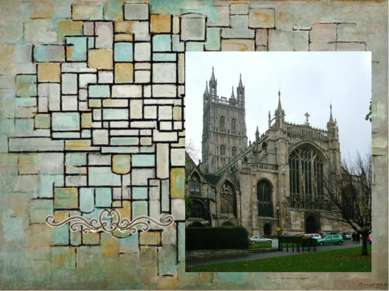 Самый большой витраж (большое окно восточного фасада, по существу, заменяет н...