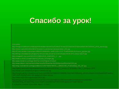 Спасибо за урок! Источники: http://image.forestbook.ru/media/photos/watermark...