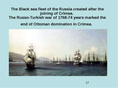 The Black sea fleet of the Russia created after the joining of Crimea. The Ru...