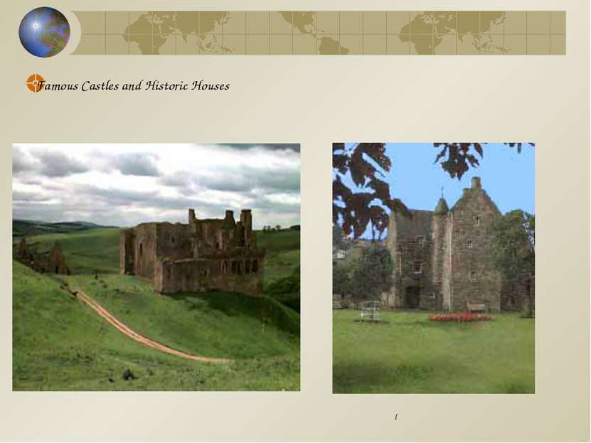Famous Castles and Historic Houses l