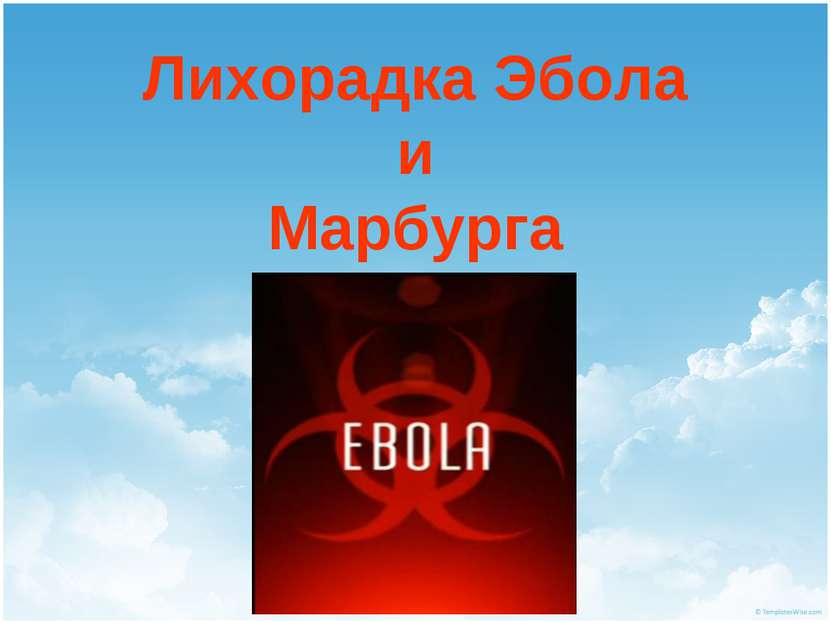 Лихорадка Эбола и Марбурга