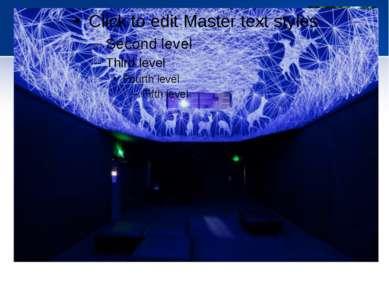 Звездная инсталляция Grotte Stellaire на потолке и стенах. Арт-проект от Ju...