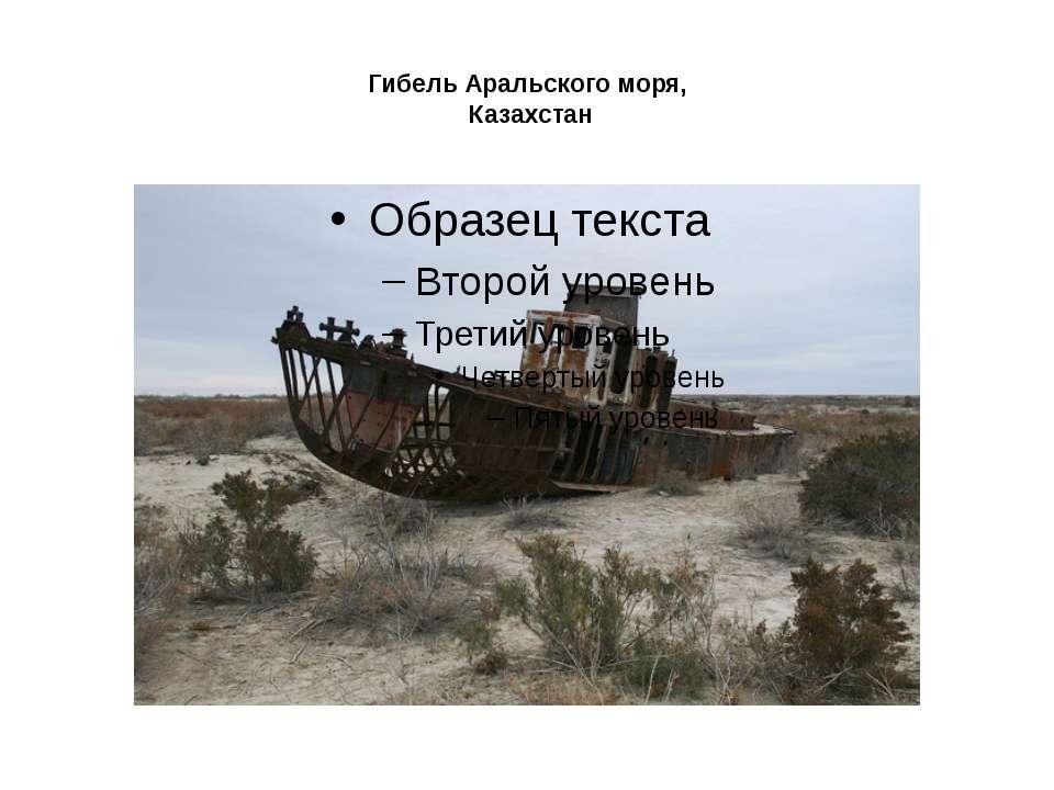 Гибель Аральского моря, Казахстан