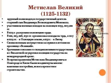 Мстислав Великий (1125-1132)