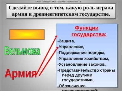 Функции государства: -Защита, -Управление, -Поддержание порядка, -Управление ...