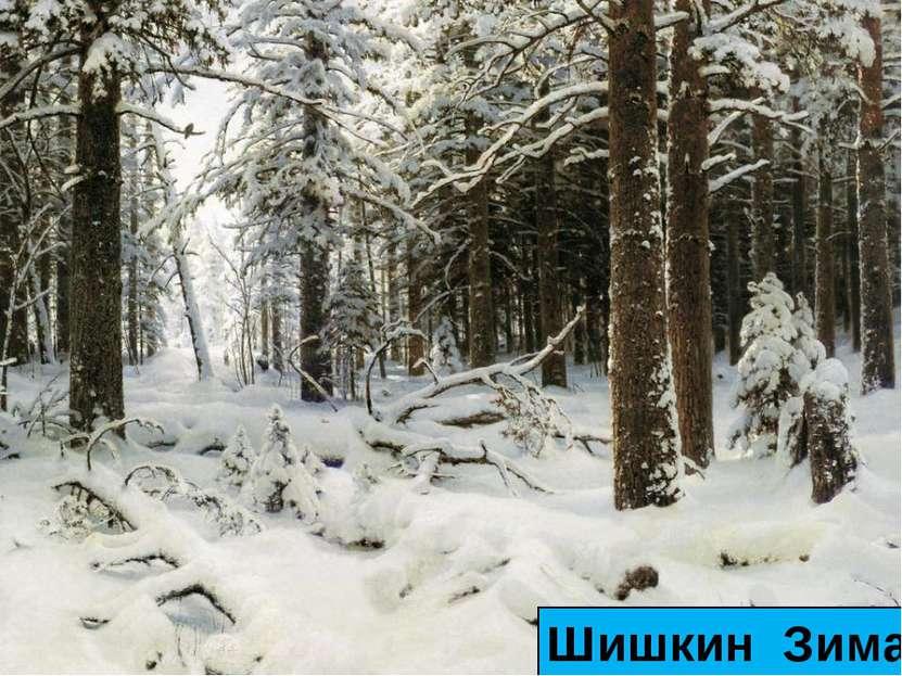 Шишкин Зима
