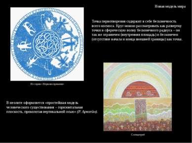Новая модель мира В неолите оформляется «простейшая модель человеческого суще...