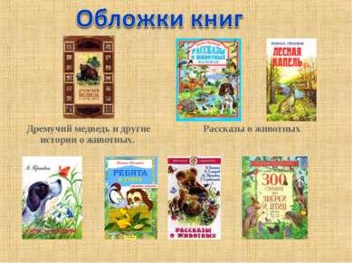 Дремучий медведь и другие истории о животных. Рассказы о животных