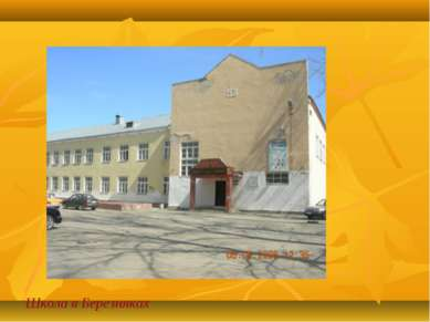 Школа в Березняках