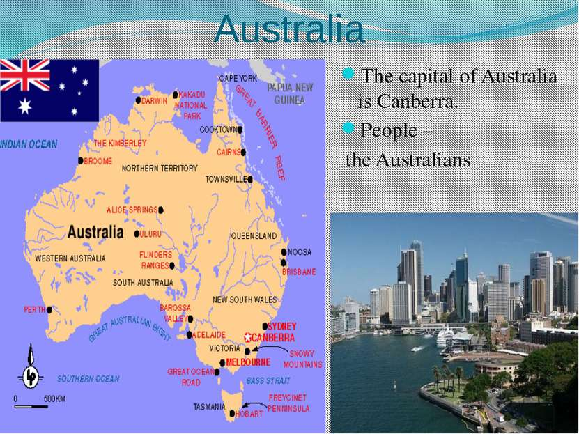 New Zealand The capital of New Zealand is Wellington. People – the New Zealan...