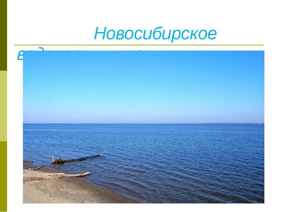 Новосибирское водохранилище. Вид с Бердского мыса