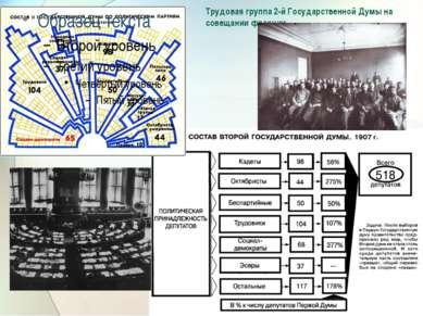 Трудовая группа 2-й Государственной Думы на совещании фракции.