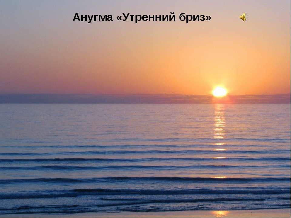 Анугма «Утренний бриз»