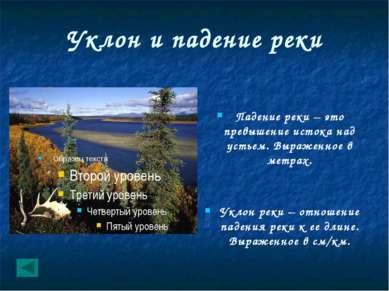 Строение реки Составные части рек исток русло море устье озеро Правый приток ...