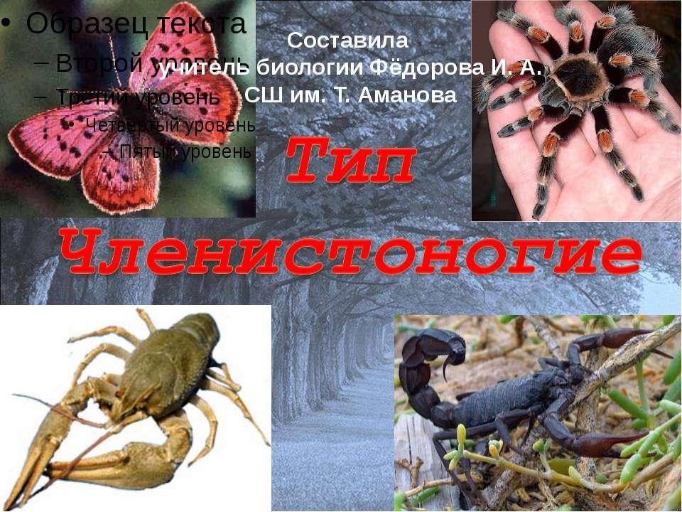 Составила учитель биологии Фёдорова И. А. СШ им. Т. Аманова
