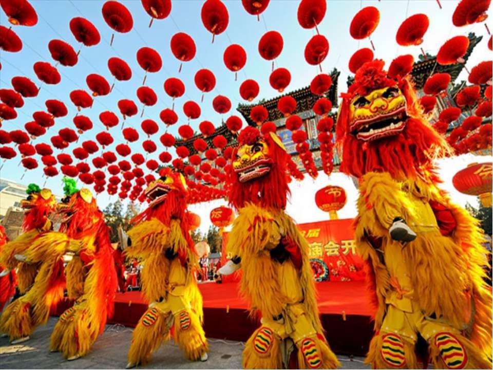 Китайский Новый год - Праздник Весны с многовековой историей.