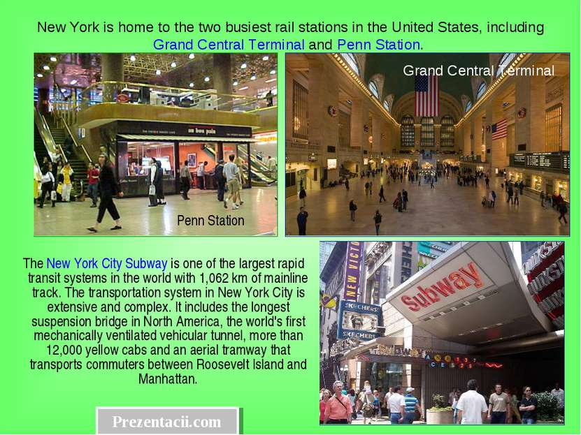 The New York City Subway is one of the largest rapid transit systems in the w...