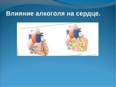 Влияние алкоголя на сердце.