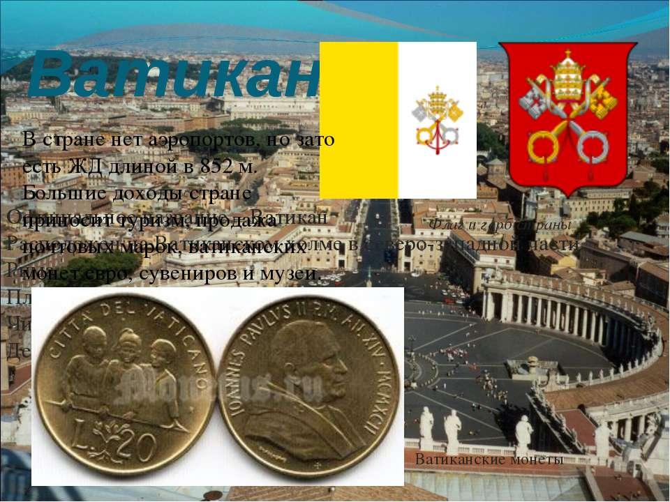 Ватикан Флаг и герб страны Официальное название – Ватикан Расположен на Ватик...