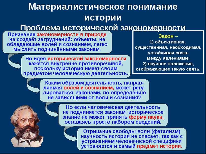 Но идея исторической закономерности кажется внутренне противоречивой, посколь...