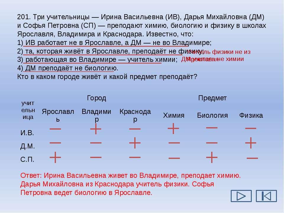 203. В цехе трудятся рабочие трёх специальностей — токари (Т), слесари (С) и ...