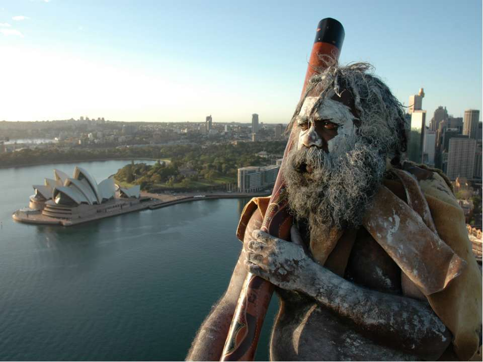 Аборигены Австралии Диджериду – духовой музыкальный инструмент аборигенов Авс...