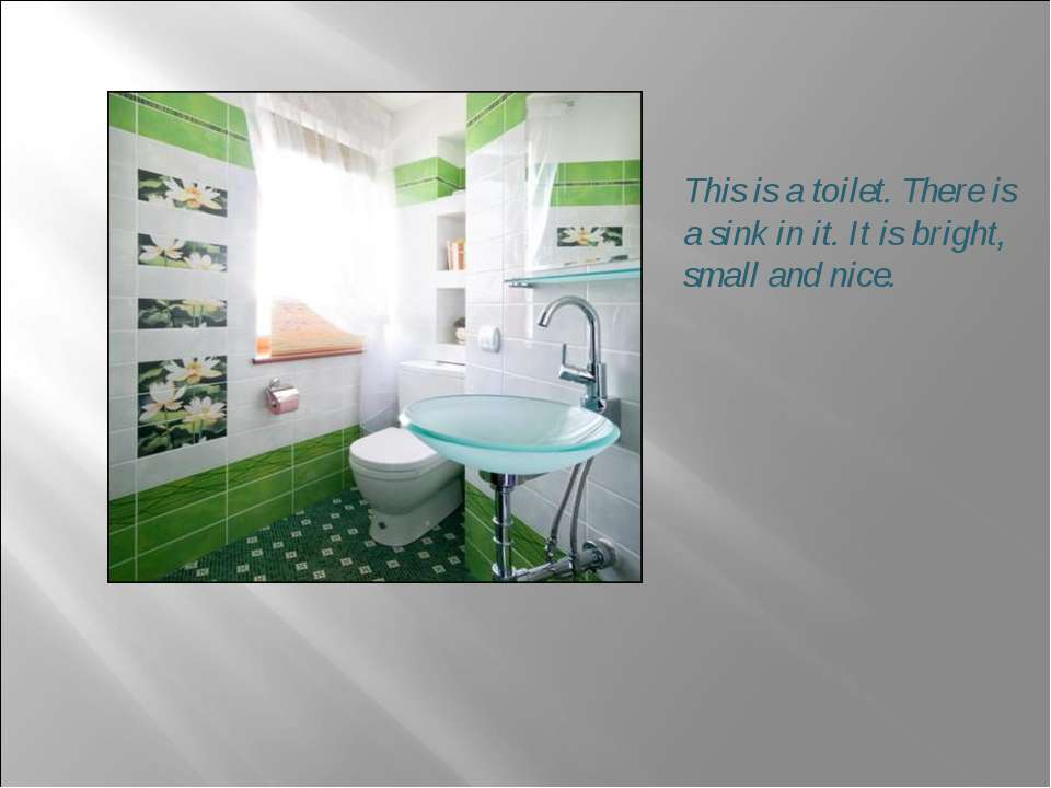 This is a toilet. There is a sink in it. It is bright, small and nice.