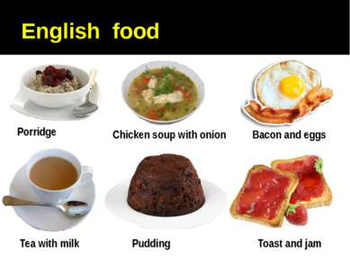 English food