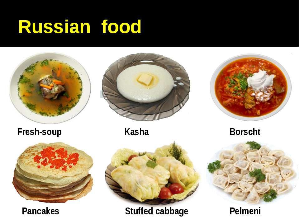 Russian food
