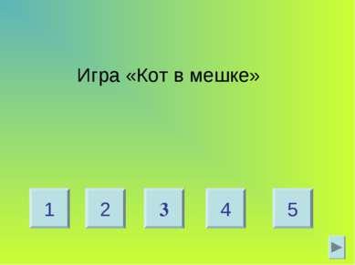 Игра «Кот в мешке» 2 4 1 5 3