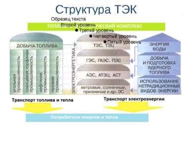 Структура ТЭК
