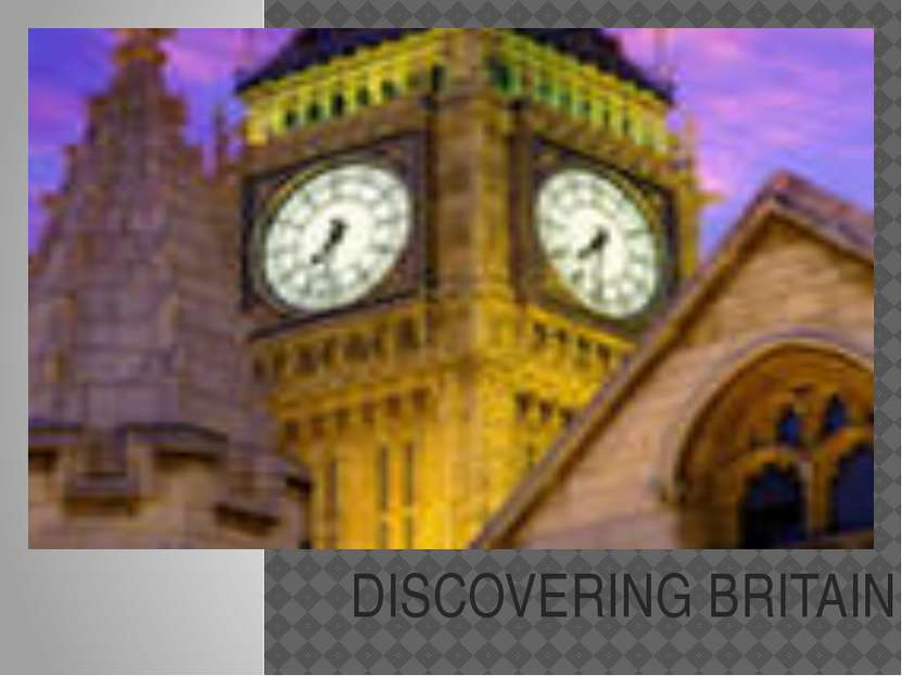 DISCOVERING BRITAIN