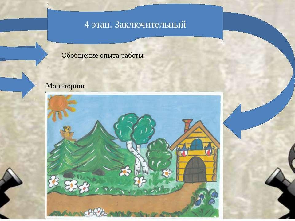 Обобщение опыта работы Мониторинг 4 этап. Заключительный