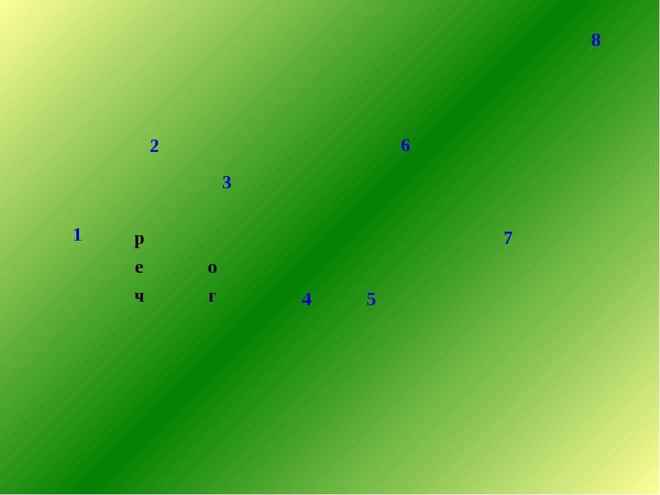 8 1 6 2 3 р 4 5 7 е о ч г э к о л о х а н е б о ь с л а   к а