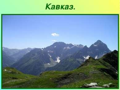Кавказ.