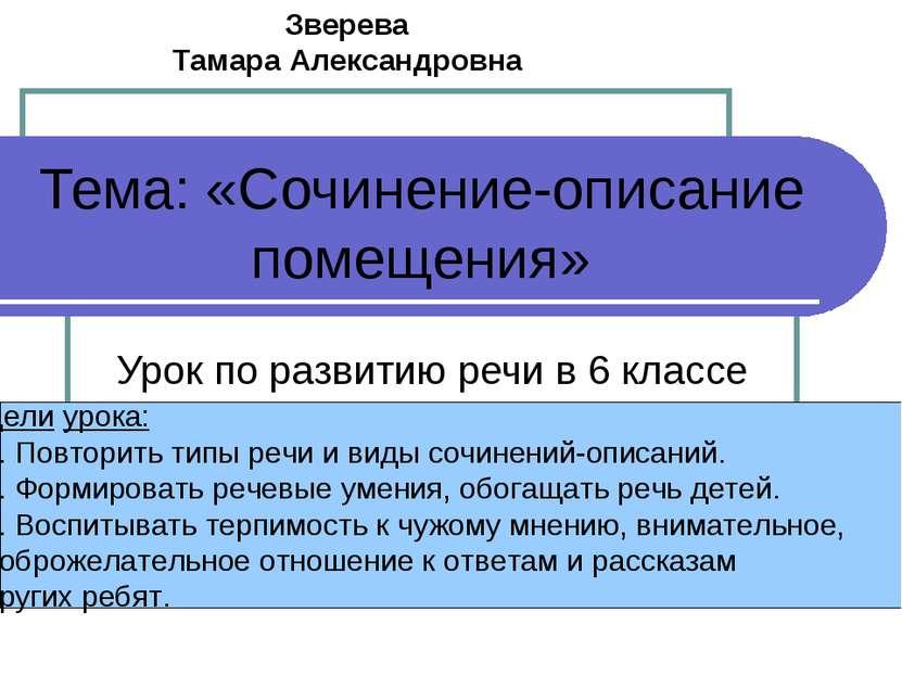 Описание помещения сочинение 6 класс по русскому кабтнету