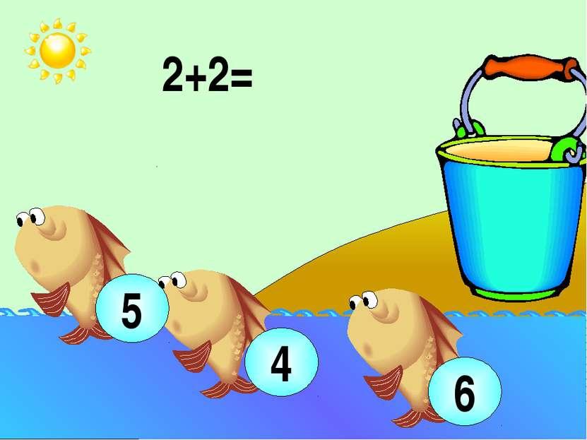 2+2= 4 5 6 Устный счёт (используются числовой веер, сигнальные карточки): игр...