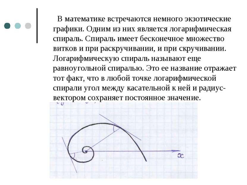 В математике встречаются немного экзотические графики. Одним из них является ...