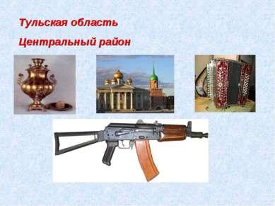 Тульская область Центральный район