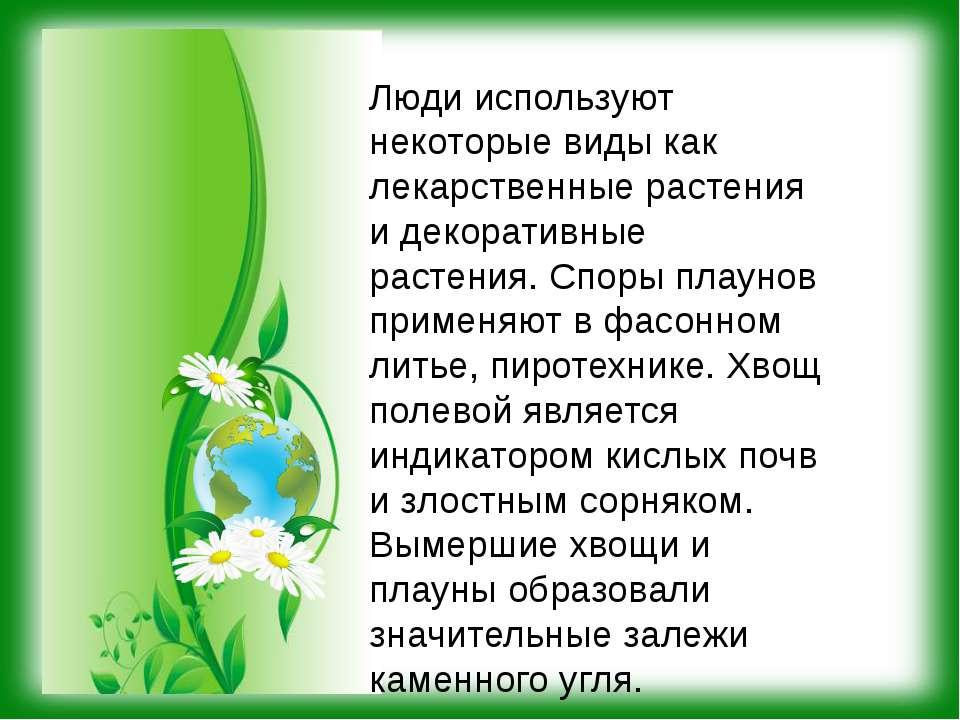 Люди используют некоторые виды как лекарственные растения и декоративные раст...