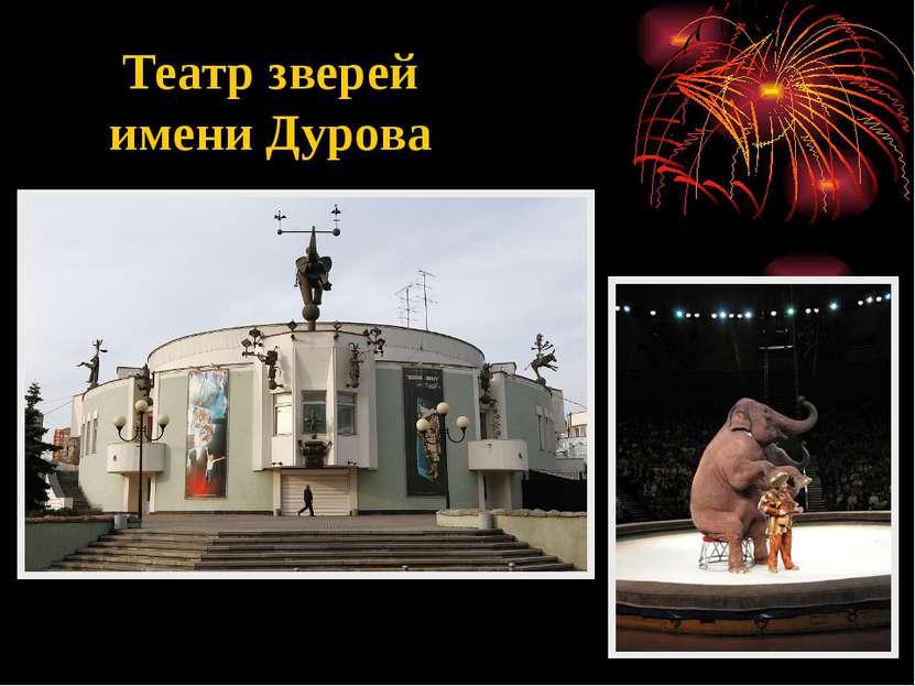 Театр зверей имени Дурова