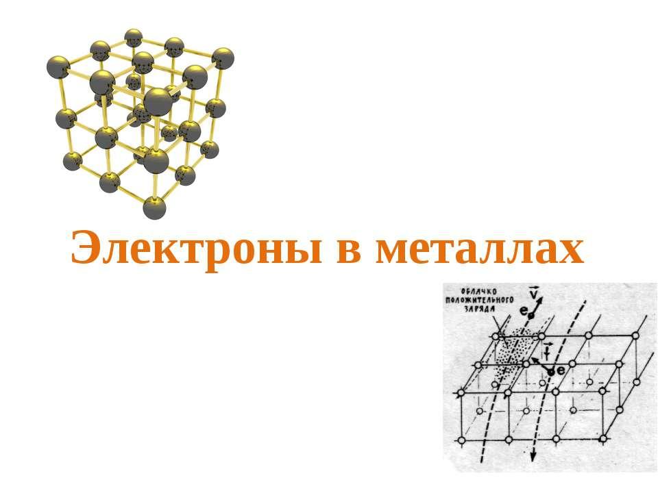 Электроны в металлах